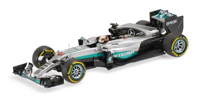 "Mercedes W07 ""GP. Barein"" nº 44 Lewis Hamilton (2016) Minichamps 1:43"