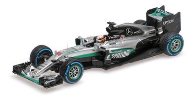 "Mercedes W07 ""GP. Brasil"" nº 44 Lewis Hamilton (2016) Minichamps 1:43"