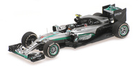 "Mercedes W07 ""GP. China"" nº 6 Nico Rosberg (2016) Minichamps 1:43"