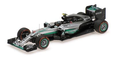 """Mercedes W07 """"GP. Japón"""" nº 6 Nico Rosberg (2016) Minichamps 1:43"""