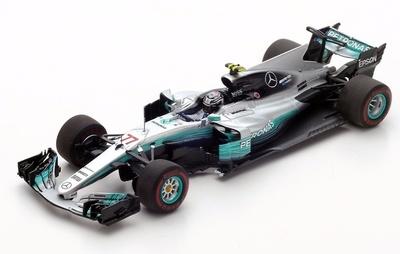 "Mercedes W08 ""1º GP. Rusia"" nº 77 Valtteri Bottas (2017)  Spark 1:43"