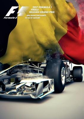 "Mercedes W08 ""GP. Bélgica"" N°44 Lewis Hamilton (2017) Spark 1:43"