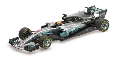 "Mercedes W08 ""GP. China"" nº 44 Lewis Hamilton (2017) Minichamps 1/43"