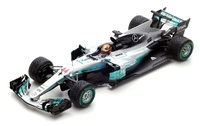 "Mercedes W08 ""GP. China"" nº 44 Lewis Hamilton (2017) Spark 1:43"