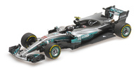 "Mercedes W08 ""GP. China"" nº 77 Valtteri Bottas (2017) Minichamps 1:43 (x)"