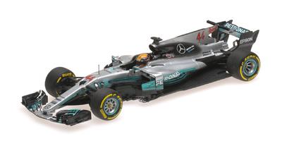 "Mercedes W08 ""GP. España"" nº 44 Lewis Hamilton (2017) Minichamps 1:43"