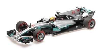 """Mercedes W08 """"GP. México"""" nº 44 Lewis Hamilton (2017) Minichamps 1:18"""