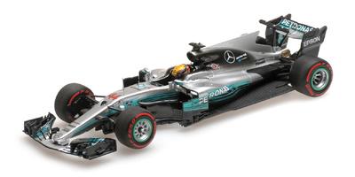 "Mercedes W08 ""GP. Rusia"" nº 44 Lewis Hamilton (2017) Minichamps 1:43"