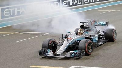"Mercedes W09 ""GP. Abu Dhabi"" nº 44 Lewis Hamilton (2018) Spark 1/43"