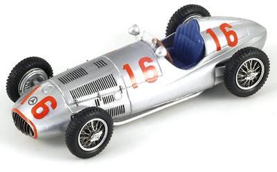 "Mercedes W165 ""GP. Tripoli"" nº 16 Hermann Lang (1939) Spark 1/43"