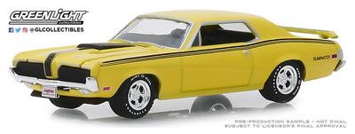 Mercury Cougar Eliminator 428 CJ (Lote nº 2048)  (1970) Greenlight 1/64