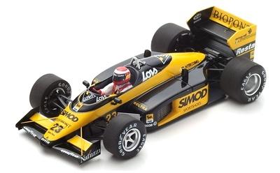 """Minardi M187 """"GP. USA"""" nº 23 Adrian Campos (1987) Spark 1:43"""