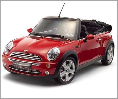 Mini Cooper Cabrio Kyosho 1/12