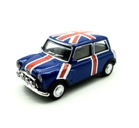 "Mini Cooper Racing ""Union Jack"" (1965) Cararama 1/72"