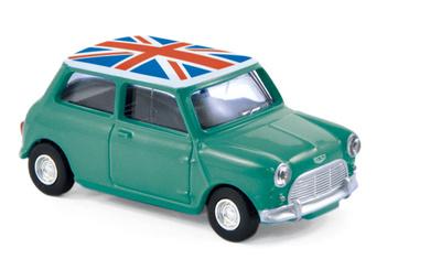 Mini Cooper S (1963) Norev 1/64 (1/54)