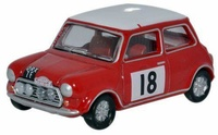 Mini Cooper S MkII Rally de Monte Carlo nº 18 (1968) Oxford 1/76