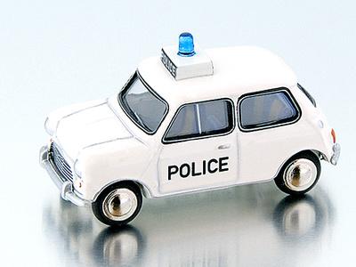 """Mini Cooper S """"Police"""" (1968) Bub 1/87"""