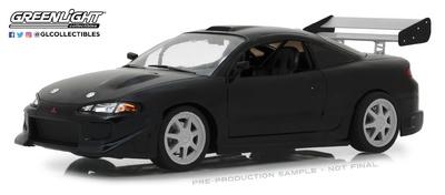 """Mitsubishi Eclipse """"Black Edition"""" (1995) Greenlight 1/18"""