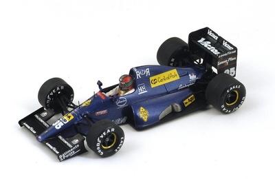 """Modena-Lamborghini 291 """"GP. San Marino"""" nº 35 Eric van de Poele (1991) Spark 1:43"""