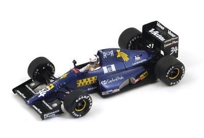 """Modena-Lamorghini 291 """"GP. USA"""" nº 34 Nicola Larini (1991) Spark 1:43"""