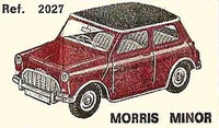 Morris Minor (Mini) Nacoral 1/43
