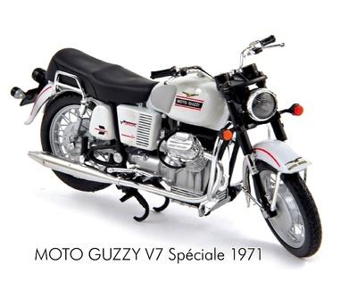 Moto Guzzi V7 Special (1971) Norev 1/18