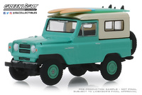Nissan Patrol con tablas de Surf (1960) Greenlight 1/64