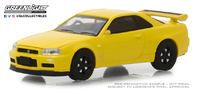 Nissan Skyline GT-R -BNR34- (2001) Greenlight 1/64