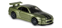 Nissan Skyline GT-R -R34-(1999) Hot Wheels 1/64