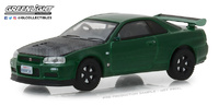 Nissan Skyline GT-R -R34- (2000) Greenlight 1/64