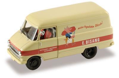 "Opel Blitz Kastenwagen A ""Metzgerei E. Bisang"" (1960) Starline 1/43"