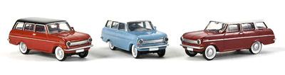 Opel Kadett A Caravan (1965) Drummer-Brekina 1/87