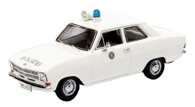 Opel Kadett B Policia Alemana Schuco 1/43