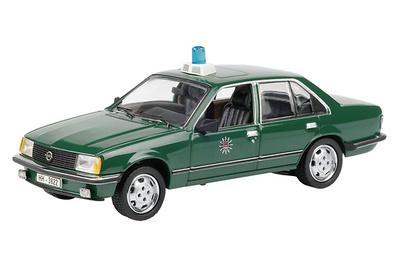 """Opel Rekord E (1980) """"Policia de Hamburgo"""" Schuco 1/43"""