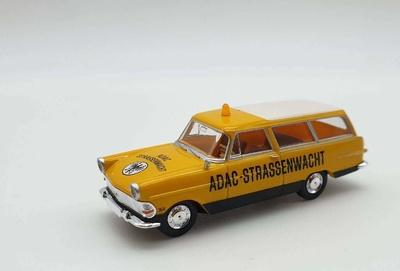 """Opel Rekord P2 Caravan """"Adac"""" Brekina 1/87"""