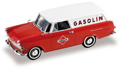 """Opel Rekord P2 Caravan """"Gasolin"""" (1960) Starline 1/43"""