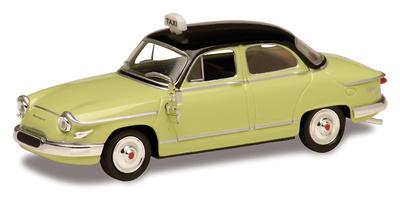 Panhard PL17 Taxi (1961) Solido 1/43