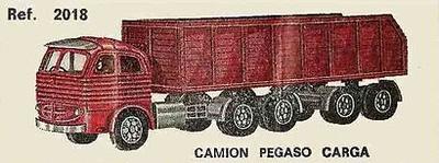 Pegaso Comet Carga Nacoral 1/43