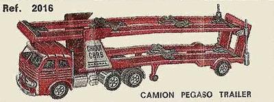 Pegaso Comet Portacoches Nacoral 1/43