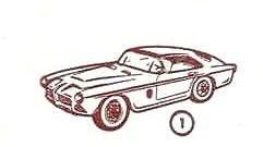 Pegaso Sport Z-103 (1955) Mini-Cars 1/86