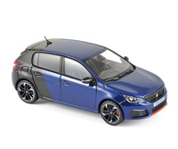 Peugeot 308 GTi Coupe Franche (2017) Norev 1:43