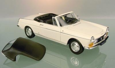 Peugeot 404 Cabriolet Norev 1/18