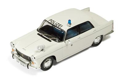 "Peugeot 404 Sedan ""Policia Alemana"" (1966) Ixo 1/43"