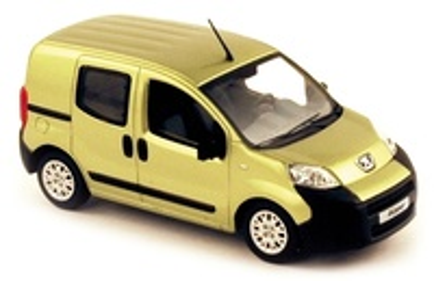 Peugeot Bipper Furgoneta Acristalada (2007) Norev 1/43
