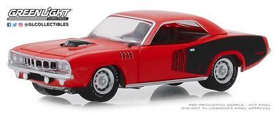 Plymouth Barracuda - 426 HEMI 50 Aniversario (1971) Greenlight 1/64