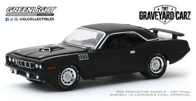 "Plymouth Cuda 340 ""Graveyard Carz"" (1971) Greenlight 1/64"
