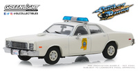 "Plymouth Fury Policía de Missisippi ""Smokey and the Bandit"" (1977) Greenlight 1/43"