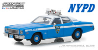 Plymouth Fury Policia de New York NYPD (1975) Greenlight 1/43