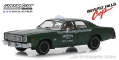 "Plymouth Fury Taxi de Detroit ""Superdetective en Hollywood"" (1976) Greenlight 1/43"