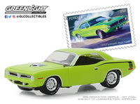 "Plymouth HEMI 'Cuda USPS ""American on the Movie"" (1970) Greenlight 1/64"